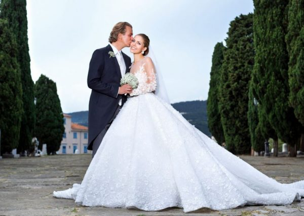 Свадебное платье А-ТРИО